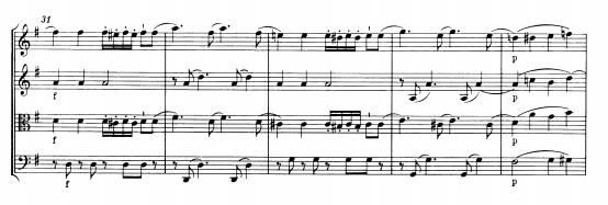 K387中这段美妙的旋律